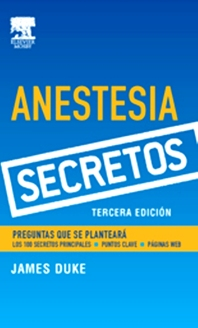 Serie Secretos: Anestesia - 3rd Edition - ISBN: 9788481749410