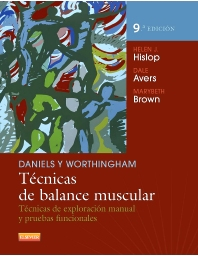 Cover image for Daniels y Worthingham. Técnicas de balance muscular
