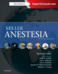 Miller. Anestesia + ExpertConsult - 8th Edition - ISBN: 9788490229279, 9788490229361