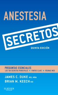 Cover image for Anestesia. Secretos