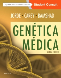 Cover image for Genética médica + StudentConsult