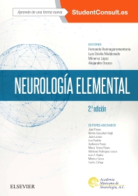 Cover image for Neurología elemental + StudentConsult en español