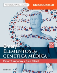 Emery. Elementos de genética médica + StudentConsult - 15th Edition - ISBN: 9788491132066, 9788491132370