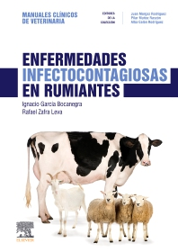 Cover image for Enfermedades infectocontagiosas en rumiantes