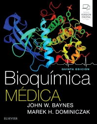Cover image for Bioquímica médica