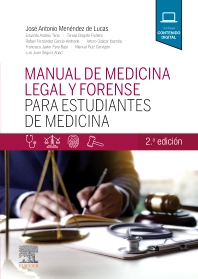 Manual de medicina legal y forense para estudiantes de Medicina - 2nd Edition - ISBN: 9788491134527, 9788491136972