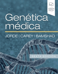 Cover image for Genética médica