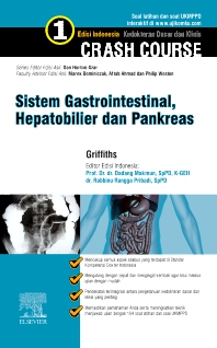 Cover image for Crash Course Sistem Gastrointestinal, Hepatobilier & Pankreas