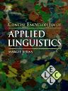 Concise Encyclopedia of Applied Linguistics, 1st Edition,Margie Berns,ISBN9780080965024