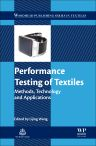 Performance Testing of Textiles, 1st Edition,Lijing Wang,ISBN9780081005705