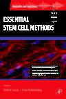 Essential Stem Cell Methods, 1st Edition,Robert Lanza,Irina Klimanskaya,ISBN9780123750617