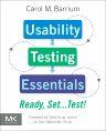 Usability Testing Essentials, 1st Edition,Carol Barnum,ISBN9780123750921