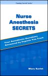 Nurse Anesthesia Secrets, 1st Edition,Mary Karlet,ISBN9780323031448
