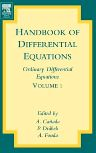 Handbook of Differential Equations: Ordinary Differential Equations, 1st Edition,A. Canada,P. Drabek,A. Fonda,ISBN9780444511287