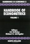 Handbook of Econometrics, 1st Edition,M.D. Intriligator,Z. Griliches,ISBN9780444861856