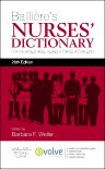 Bailliere's Nurses' Dictionary, 26th Edition,Barbara Weller,ISBN9780702053283