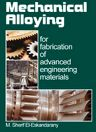 Mechanical Alloying, 1st Edition,M. Sherif El-Eskandarany,ISBN9780815514626