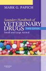 Saunders Handbook of Veterinary Drugs, 3rd Edition,Mark Papich,ISBN9781437701524